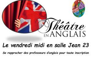théâtre en francais